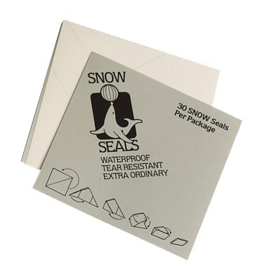 streetsupply Snow Seals 30x (9,5x9,5cm with lines)